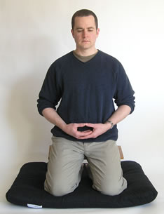 Seiza position front